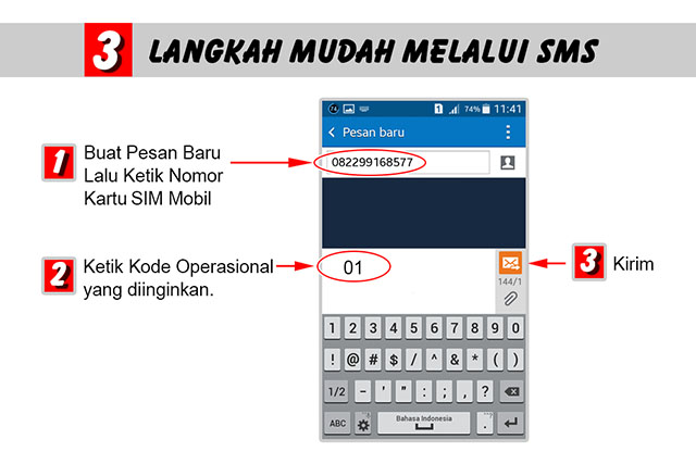 Buku saku_0 melakukan perintah lewat sms_2 kode